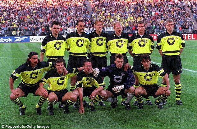 Dortmund Have Not Emulated What Lambert And Co Achieved 20 Years Ago Uefa Champions League Dortmund Borussia Dortmund