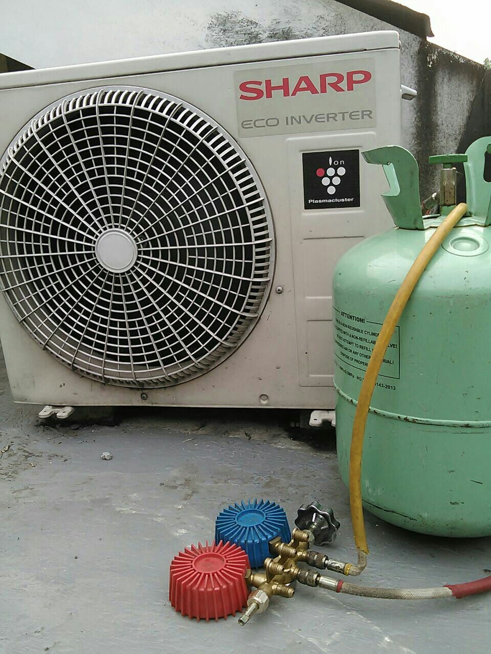 Charging Refrigerant Refrigeration And Air Conditioning Air