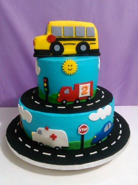Prime School Bus Cake Bus Cake School Bus Cake Party Cakes Personalised Birthday Cards Cominlily Jamesorg