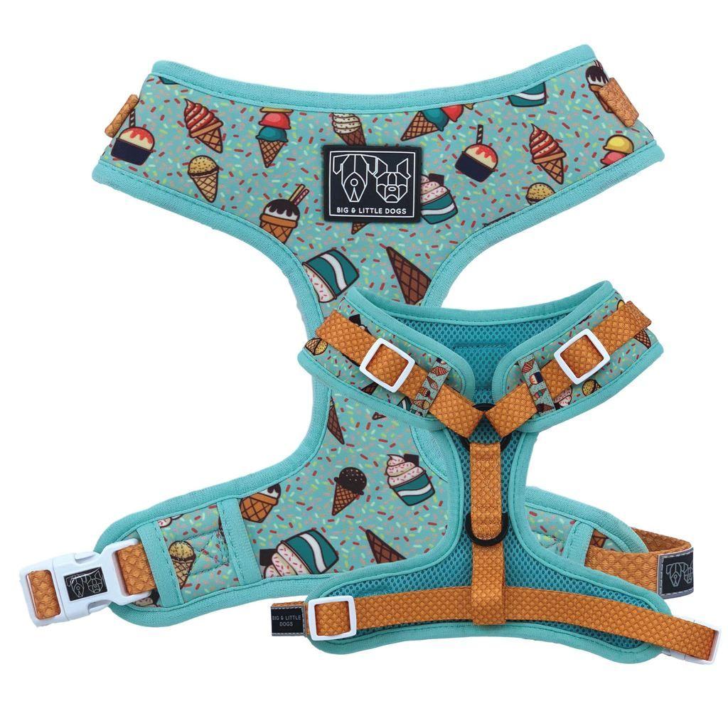 Ice Cream Sundayze Adjustable Dog Harness Dog harness