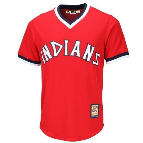 Cleveland Indians Majestic Cooperstown Cool Base Team