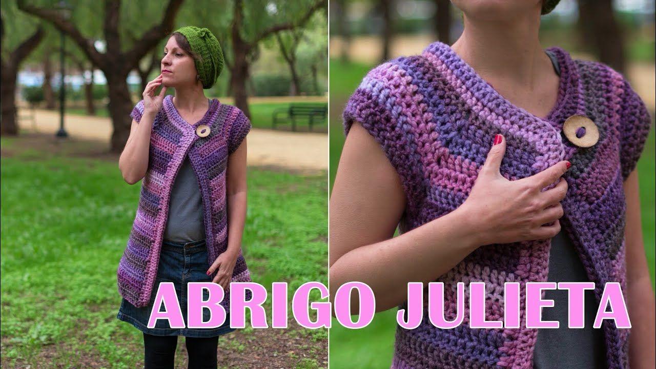 Abrigo Julieta a crochet!   Chales para damas   Pinterest   Abrigos ...