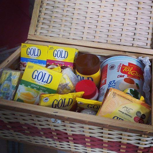 Delícias que recebi hoje em casa. Amei!  http://www.goldadocantes.com.br/