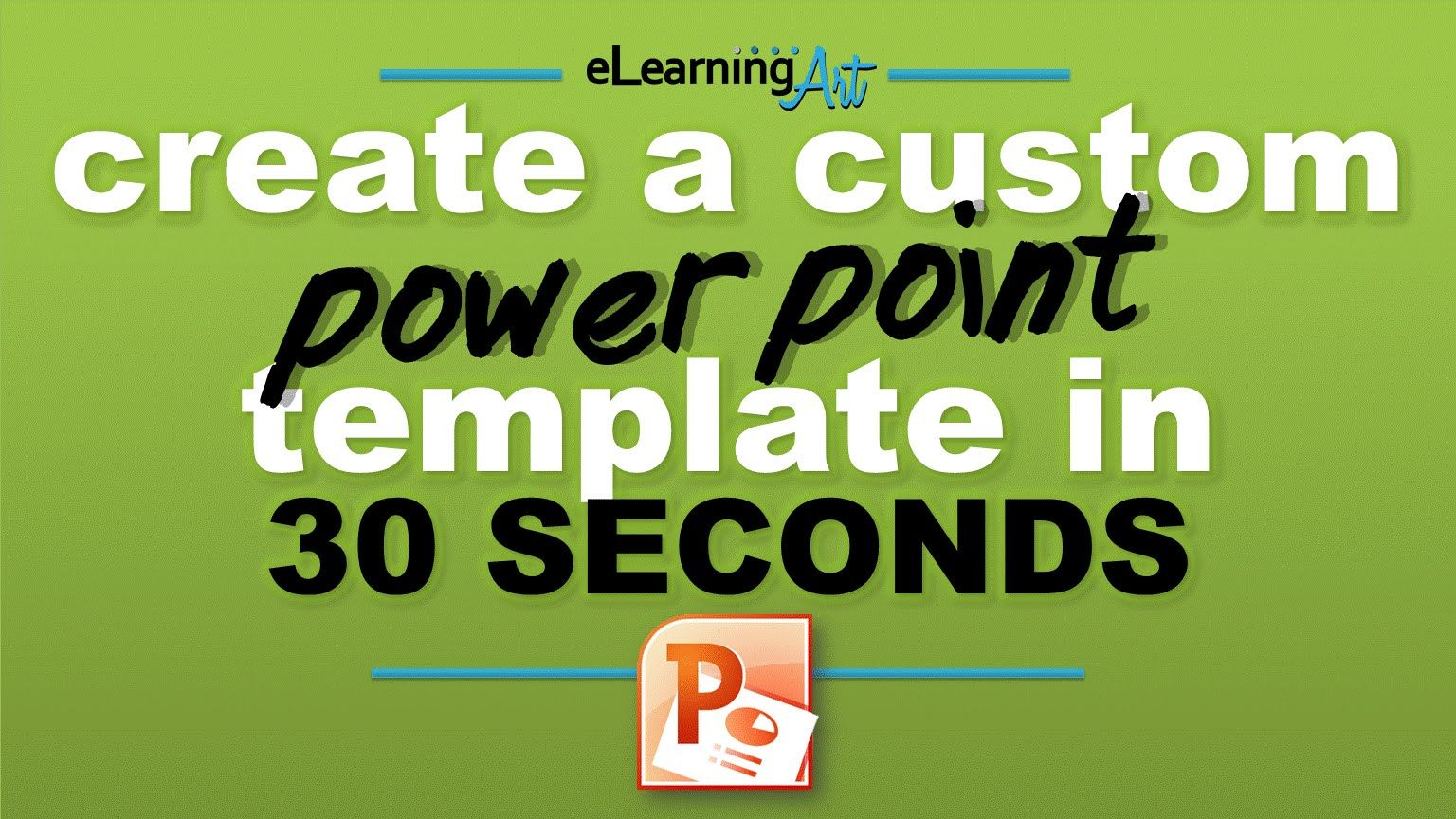 Www Elearningart How To Build A Point Template In 30 Seconds Can It Be True I Try Tom S Screen Clipping Method