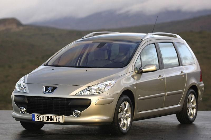peugeot 307 sw estate wagon station car kombi. Black Bedroom Furniture Sets. Home Design Ideas