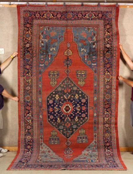 Bidjar Carpet Northwest Persia Last Quarter 19th Century 13 Ft X 6 Ft 7 In Skinner Auctioneers Sale 2304 Carpet Sale Rugs Carpet