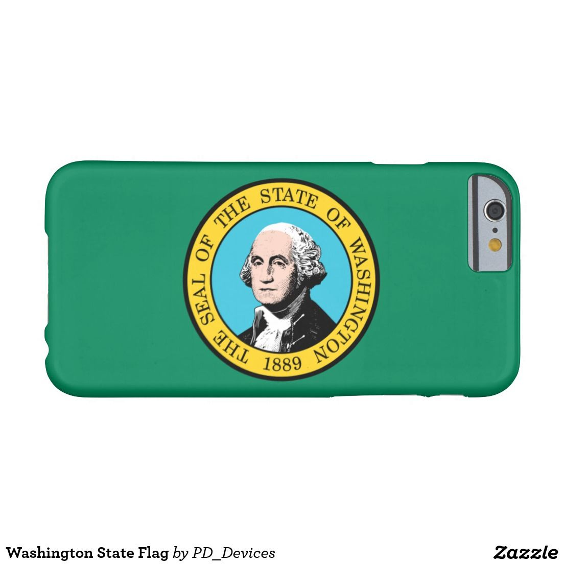 Washington State Flag Barely There iPhone 6 Case
