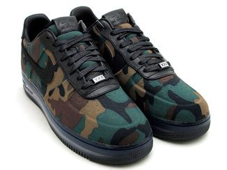 NIKE AIR FORCE 1 LOW MAX AIR VT QS CAMOBLACK | Sapatos