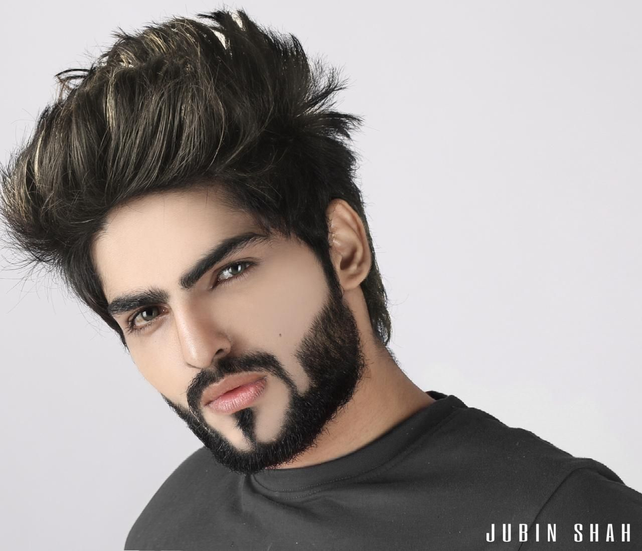 Jubin Shah Knows How To Perfectly Balance Life As An Influencer And Entertainer Hear Style Stylish Boy Haircuts Jubin Shah