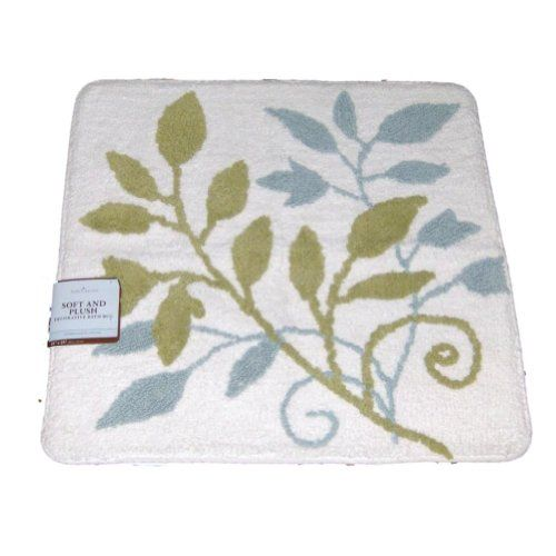 Home Clics Leafy Vine Plush Cotton Throw Rug 24x24 Ski Https