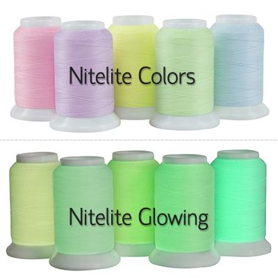 Nitelite Glow Polyester Thread Yes Thats Rightow In The