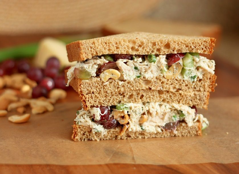 Cooking Classy: Dill Chicken Salad Sandwiches; This sounds delicious...except maybe in a wrap rather than on bread.