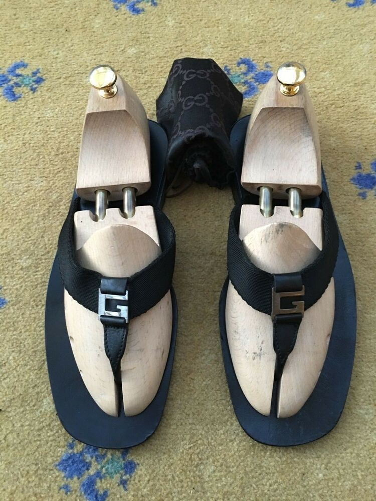92ed55cbe (eBay Sponsored) Gucci Mens Shoes Sandals Thongs Flip Flip UK 10 US 11 EU