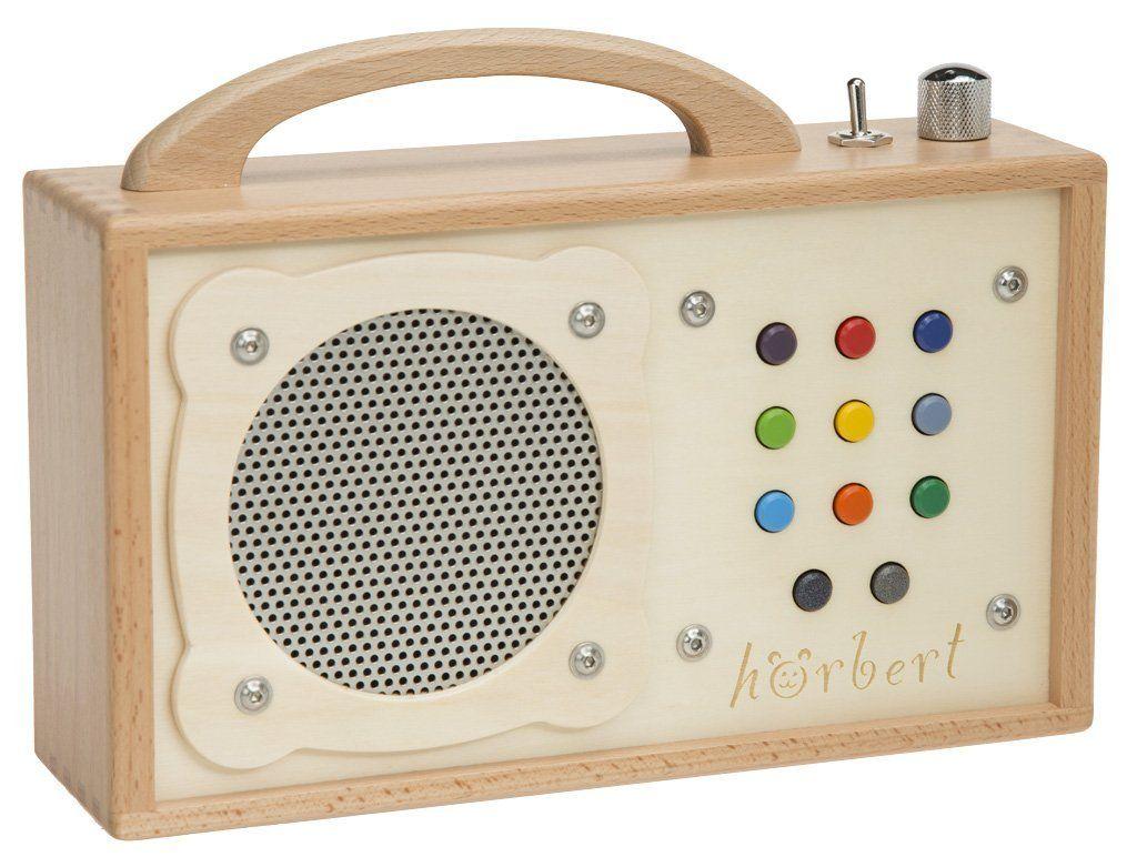 MP3-Player für Kinder: hörbert - aus Holz!: Amazon.de: Elektronik ...