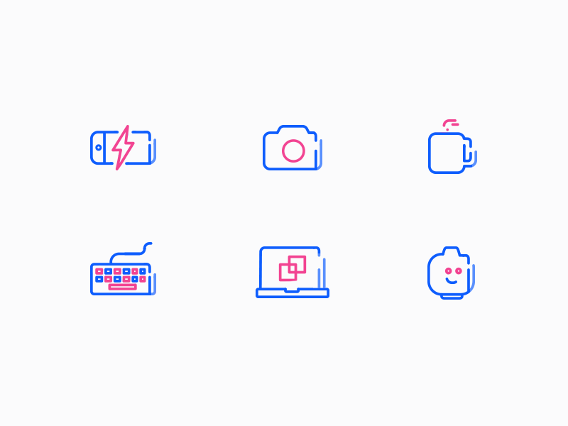 Office Icons (wip) by Luboš Volkov http://iconutopia.com/best-icons-of-the-week-week-10/