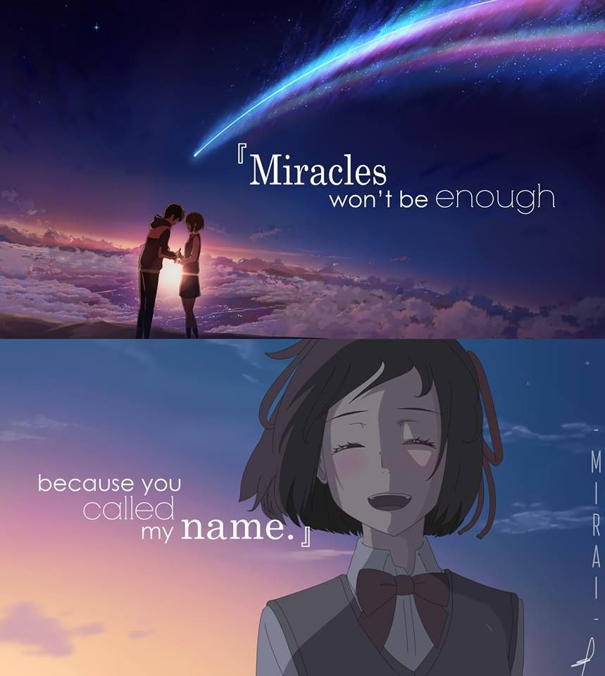 Saying Quotes About Sadness: Pin By Raquel Fernández Parga On Kimi No Na Wa. / Your