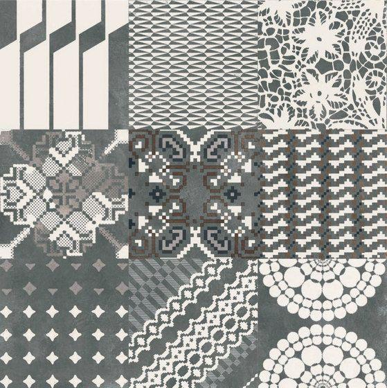Azulej combination nero di ceramiche mutina piastrelle - Piastrelle mutina ...