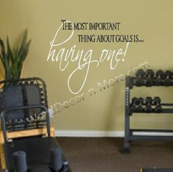 great motivation for a workout room home office or kid's