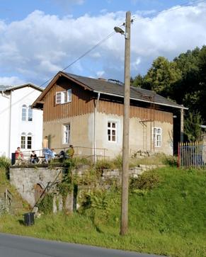 Altes Bahnwärterhaus Krippen von 1848