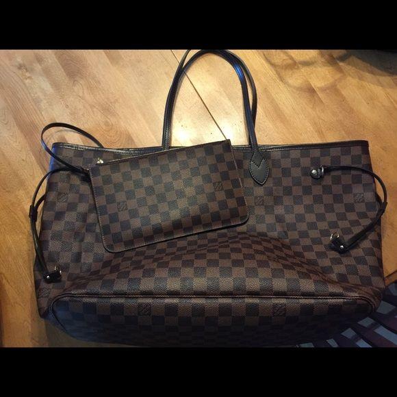 2500ce0b6d7 Authentic Louis Vuitton Damier Neverfull GM Authentic Louis Vuitton ...