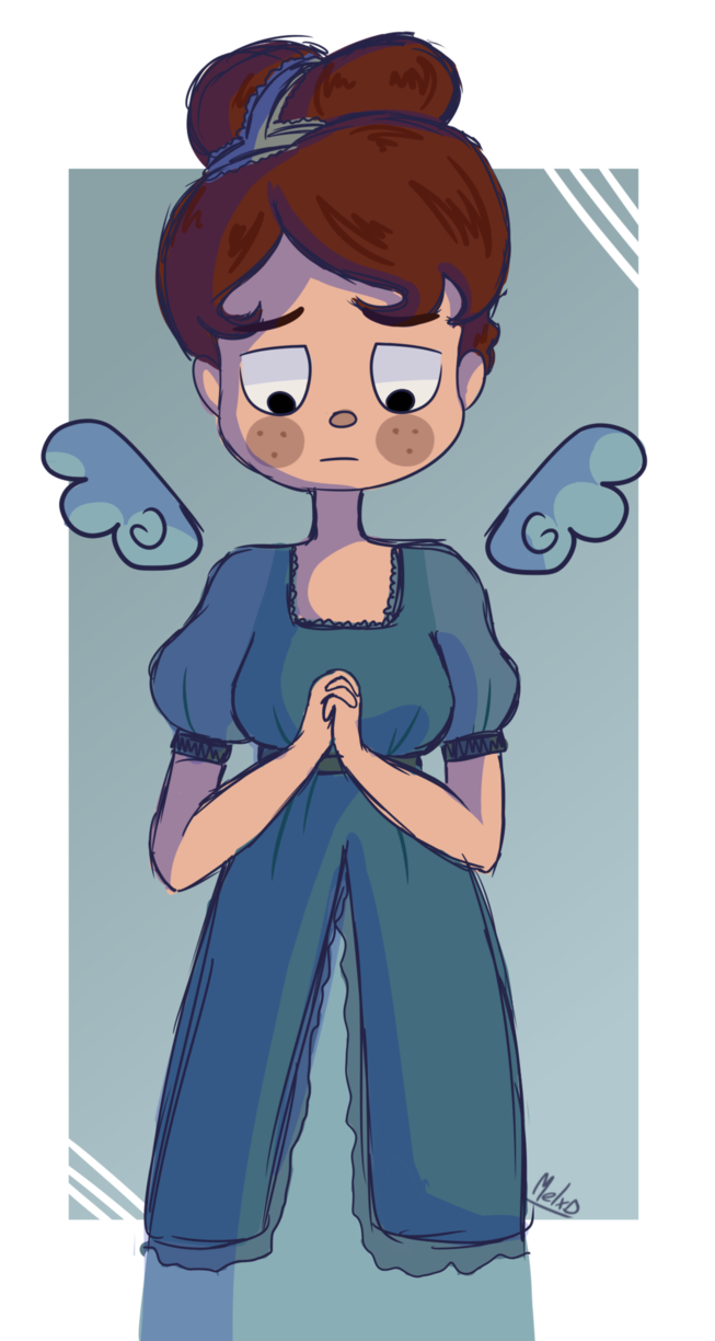 Beatrice Over the garden wall, Art, Character