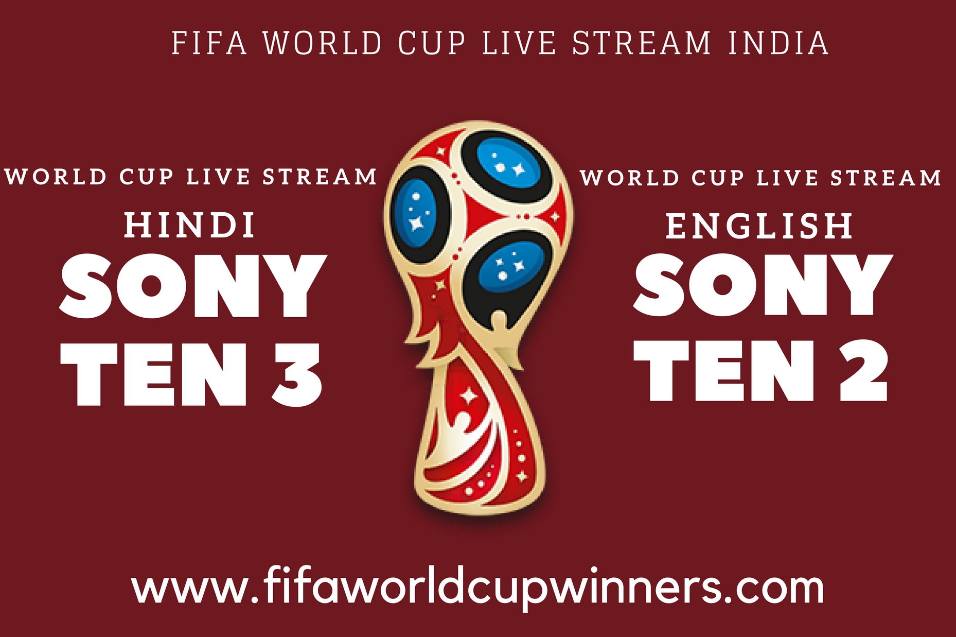 Fifa World Cup Match Live Stream From India You Can Watch 2018 World Cup Free Live Telecasting On Your Mobile Without Any Buffering World Cup Live World Cup Match World Cup Winners