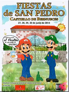 Fiestas Castiello Bernueces 2014, Gijón (Asturias)  Desde el 27 hasta el 30 de Junio 2014
