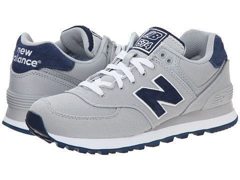 Womens Shoes New Balance Classics WL574 - Pique Polo Collection Silver Mink/Textile
