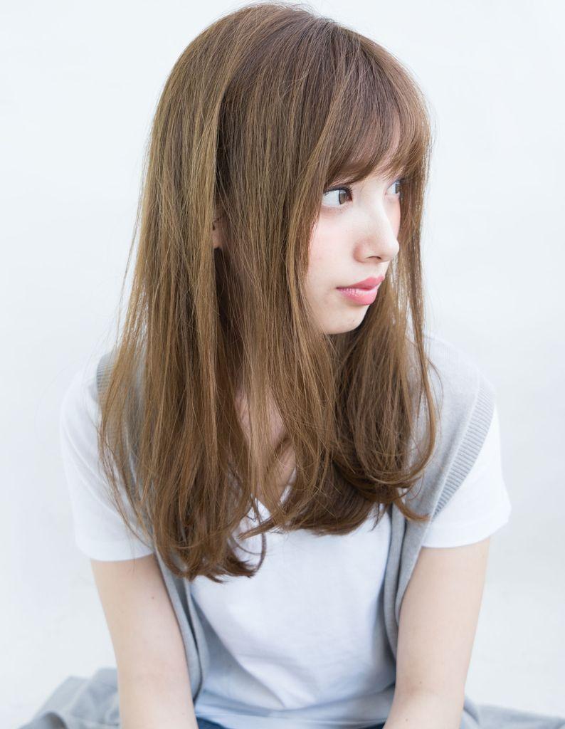 透明感のあるルーズセミロング Ih 111 ヘアカタログ 髪型 ヘア