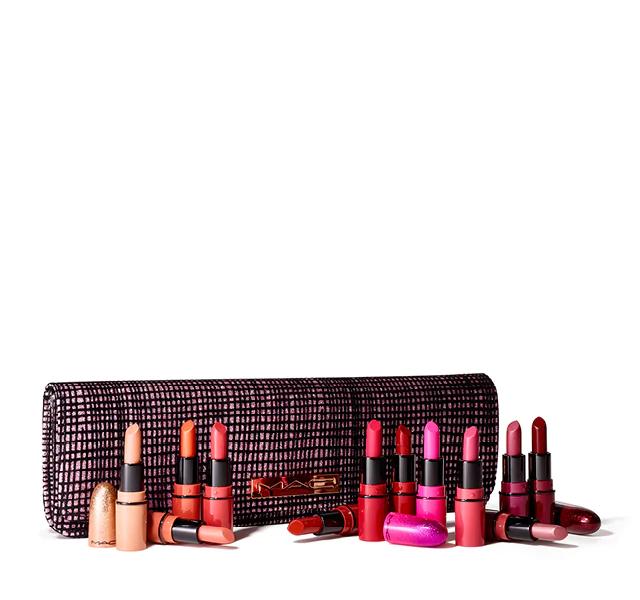M·A·C Cosmetics Homepage Lipstick kit, Sparkle makeup