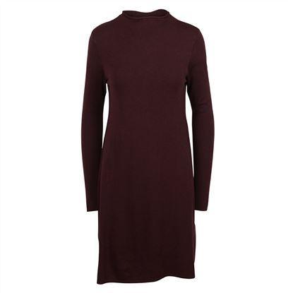MBYM Farina Freeman || Stilvolles Kleid mit kleinen modischen Details. Der kleine Stehkragen und die langen Ärmel sorgen für einen schicken Look.