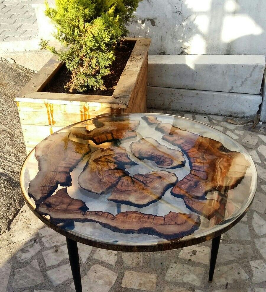 Pin by Erica Romero on resin wood table Diy resin table