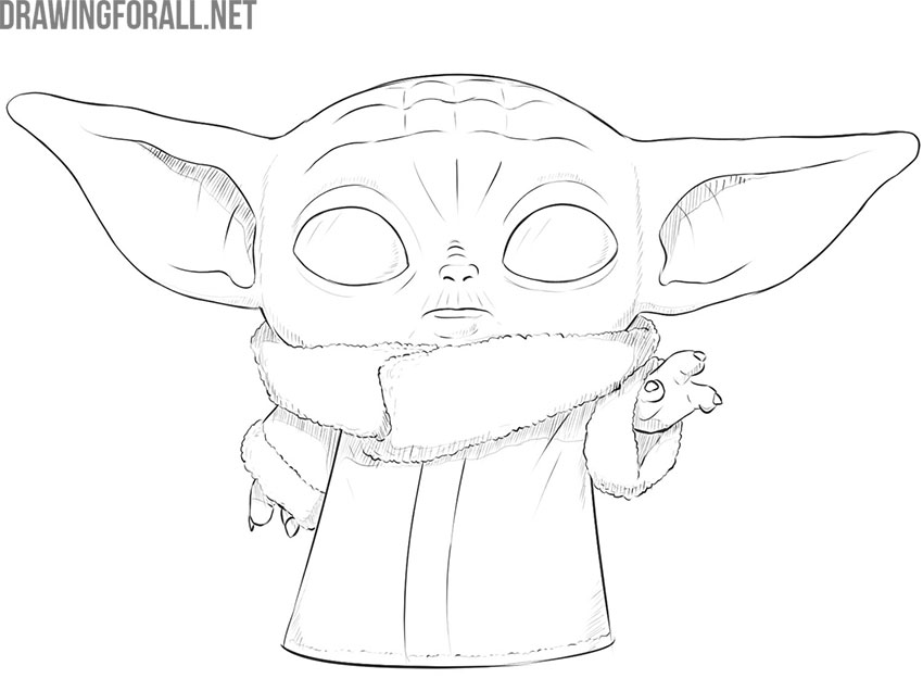 How to Draw Baby Yoda (The Child) in 2020 (With images