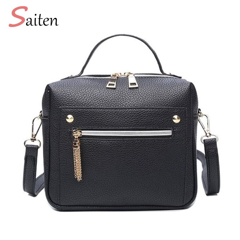 47704f45b5fb Retro Female Minimalist Crossbody Bag Small Women Shoulder Bag Tassel Women Messenger  Bags Tote Handbag Designer Bolsas Feminina