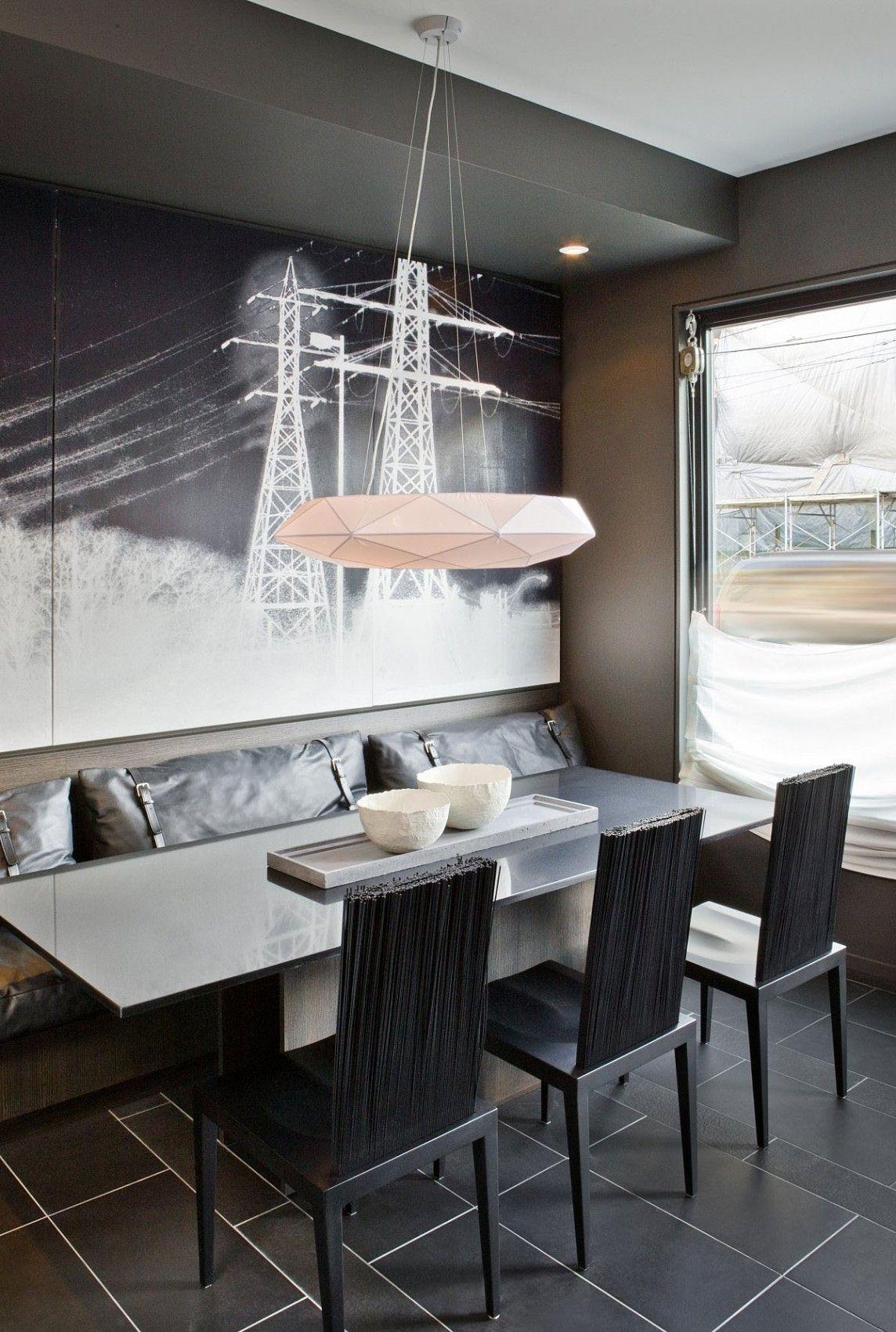 White&Grey Memories: Un duplex amb panells per amagar-ho tot