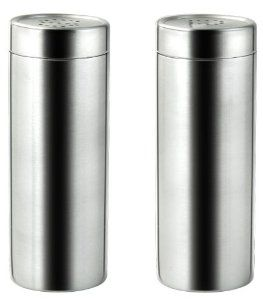 Amazon.com: Cuisinox Salt and Pepper Shaker Set: Kitchen & Dining