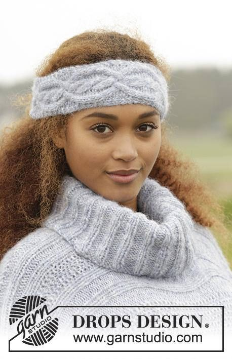 Fashion Flower Wool Head Band Chunky Hand Knit Wool Cabled Hats