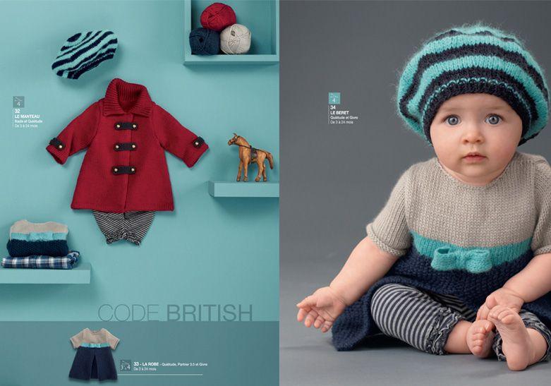 9517e124cf536 Catalogue Tricotez calin n°54 - Catalogues tricot layette - Phildar ...