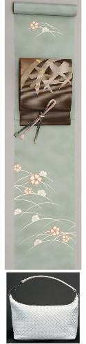 KIMONO Coordinate  絽(silk gauze)  Photo:大手小町:読売新聞(YOMIURI ONLINE)
