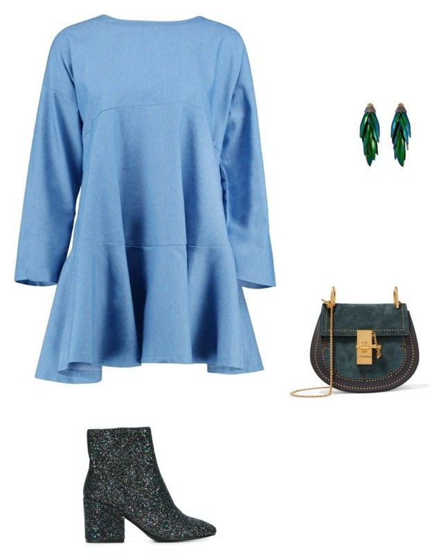 """""""Untitled #3791"""" by explorer-14576312872 ❤ liked on Polyvore featuring Ash, Boohoo, Chloé and Bibi"""