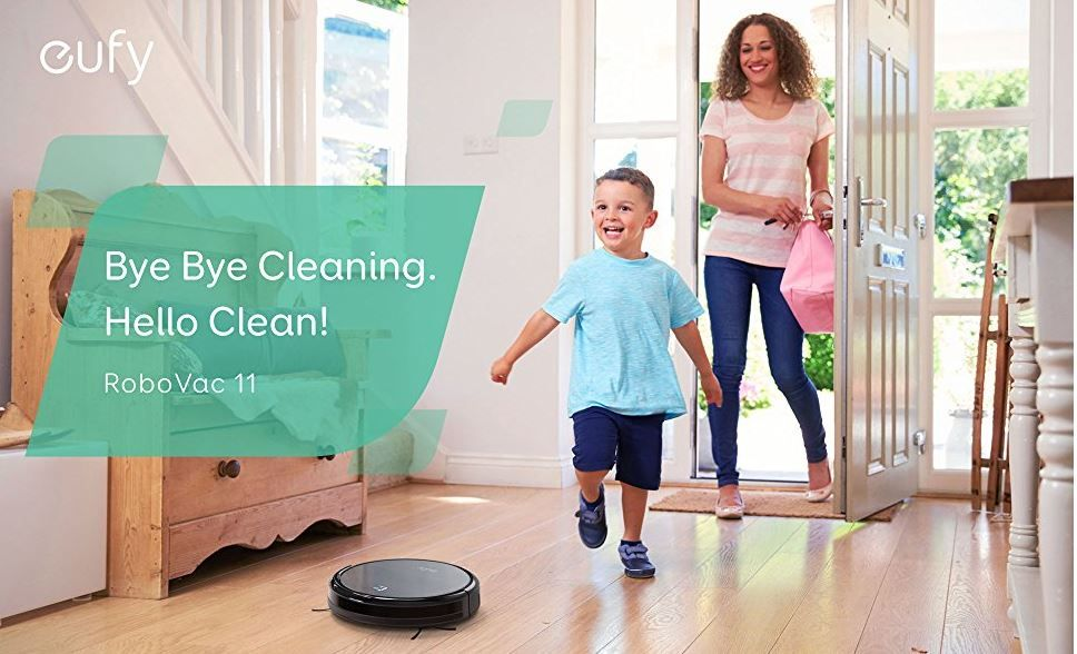 Deal of the Day: Save 70% on Eufy RoboVac 11 High Suction Self-Charging Robotic Vacuum Cleaner for 5/22/2017 only!   Price:$499.99 Deal of the Day:$149.59 & FREE Shipping. You Save:$350.40 (70%) Cleans For You: Clean your house with the click of a button. Versatile cleaning modes and the low-profile design facilitates cleaning under tables and chairs along with every nook and cranny. High-Capacity Li-ion Battery: Delivers over 1.5 hours of fade-free power for constant, powerful suction…