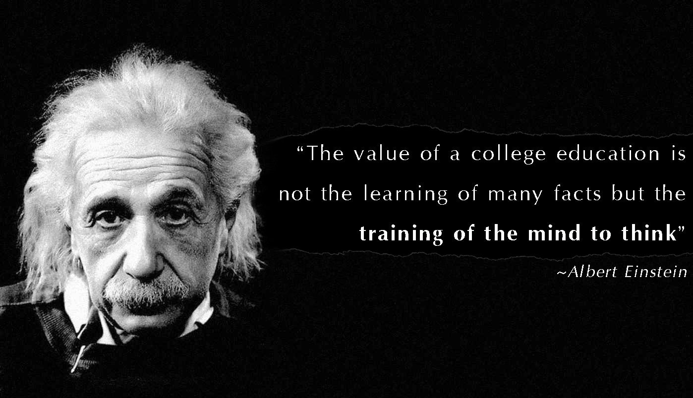 The Value Of A College Education Is Not The Learning Of