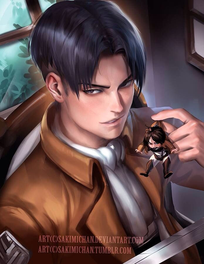 Levi by Sakimichan | Sakimi Chan *^* | Attack on titan