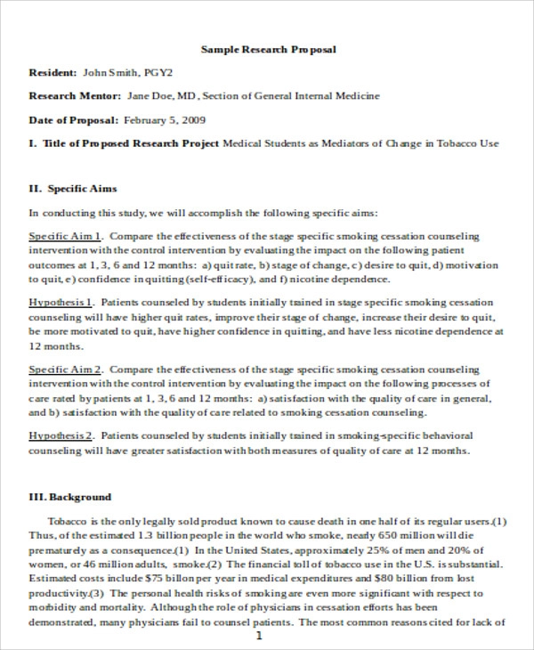 Sample Proposal For Health Project Google Search Proposal Research Proposal Proposal Sample