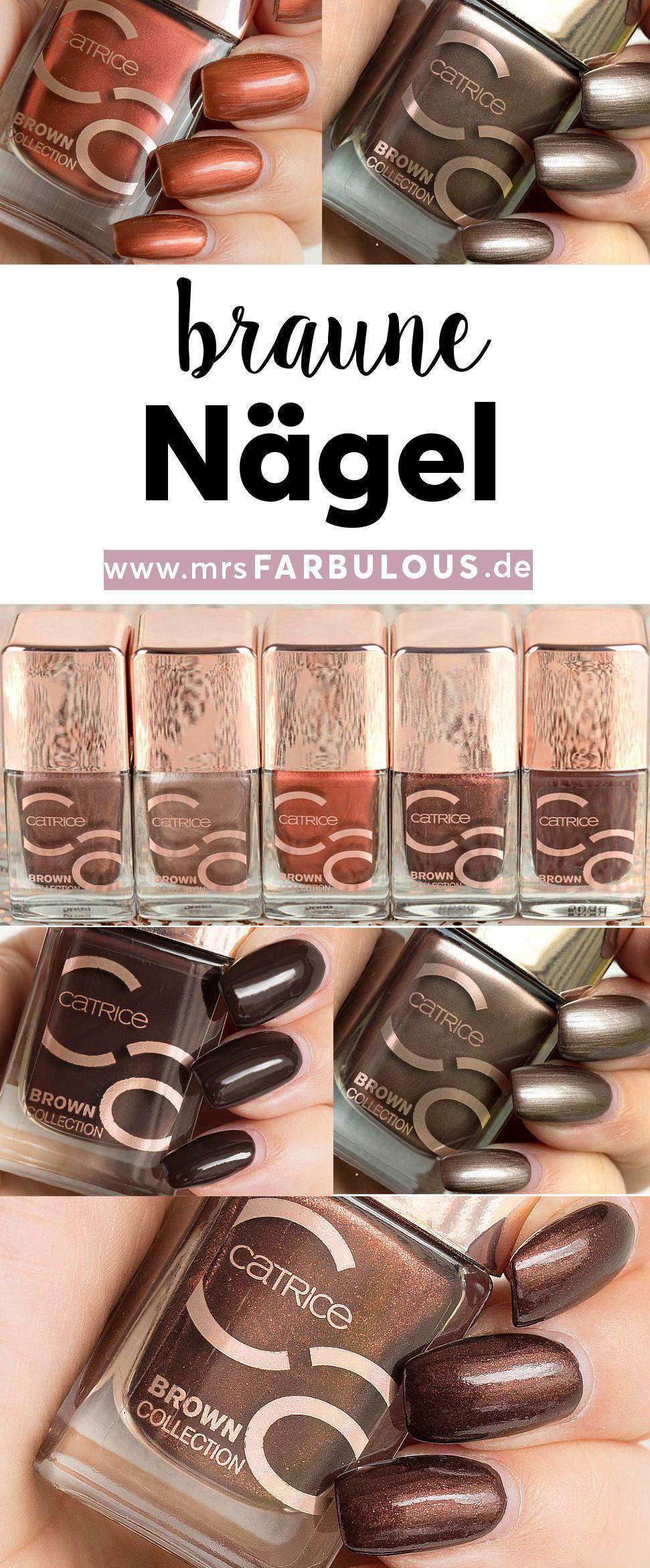 catrice Brown Collection Nagellacke - Trendfarben für den Herbst ...