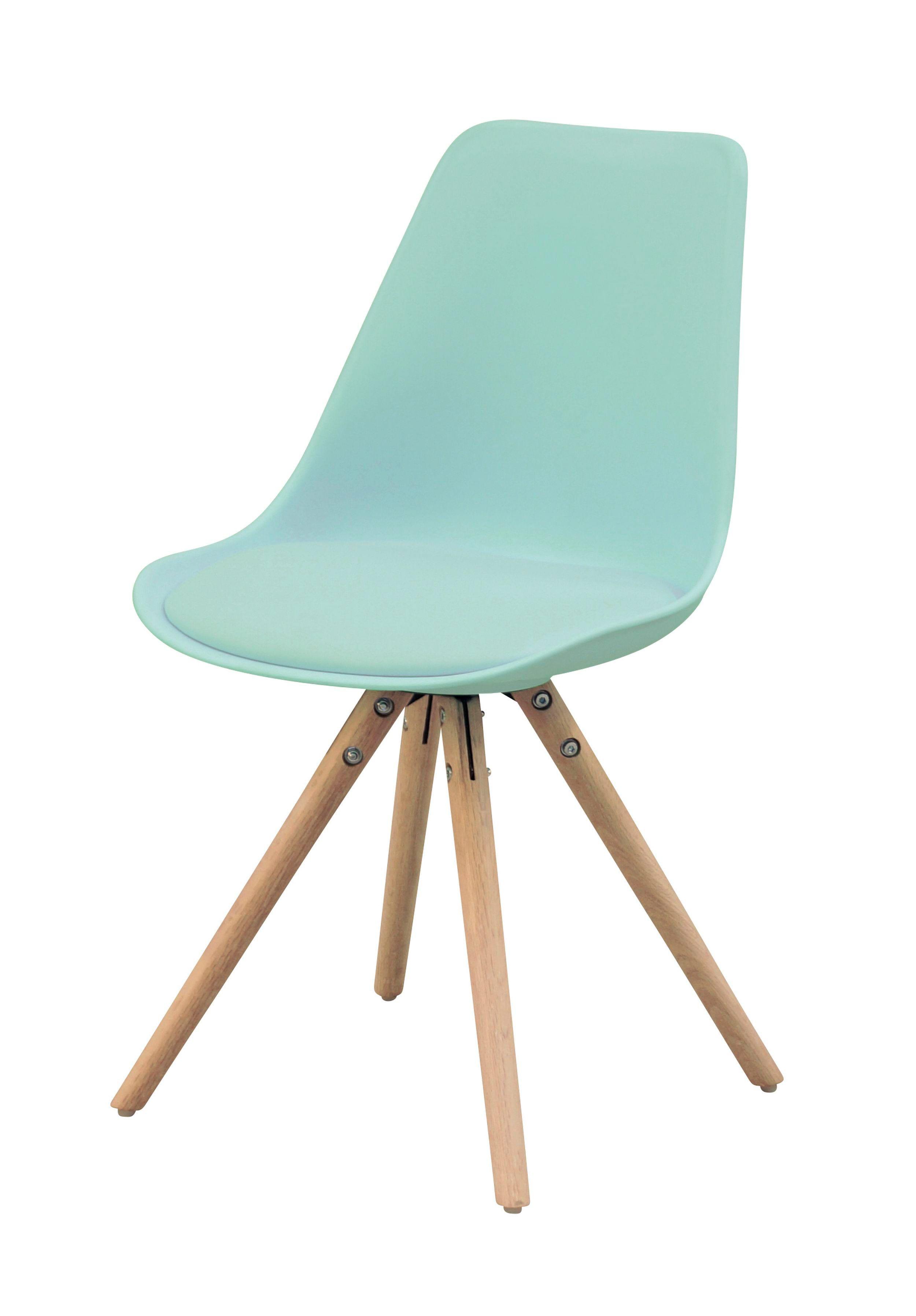 chaise oslo vert d 39 eau design scandinave but vert d. Black Bedroom Furniture Sets. Home Design Ideas