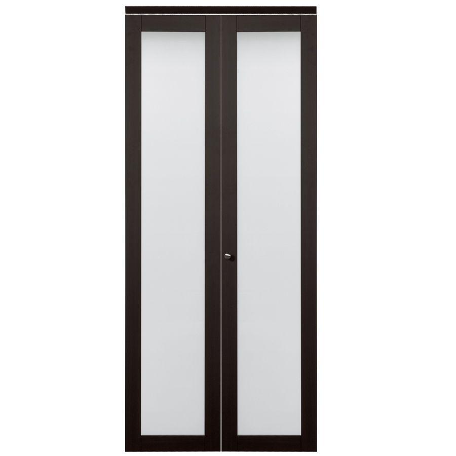 Reliabilt 1 Lite Frosted Glass Bi Fold Closet Interior Door Common 24 In X 80 Actual 78 68