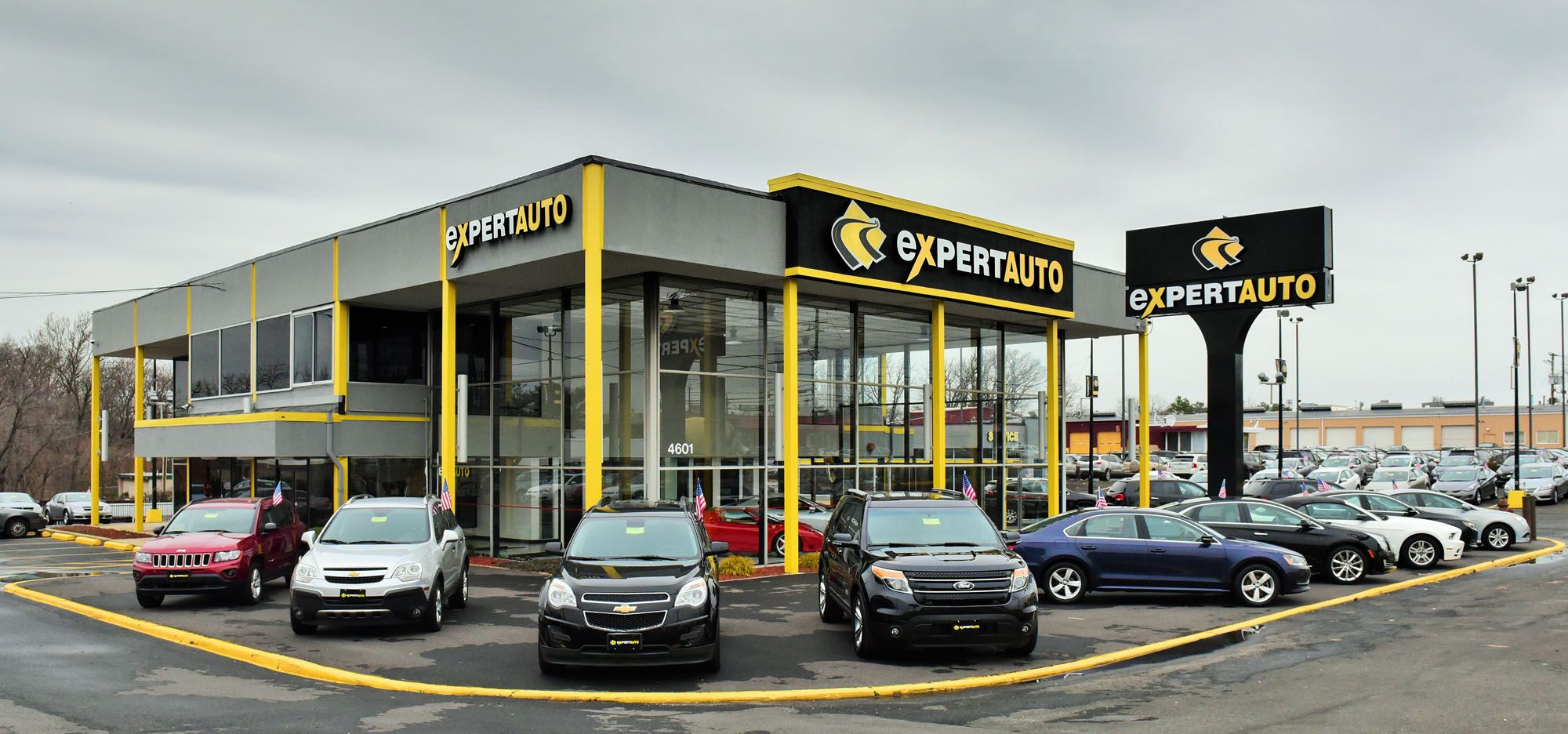 Used Car Dealership In Capitol Heights Car Dealership Car Dealership Design Building Design