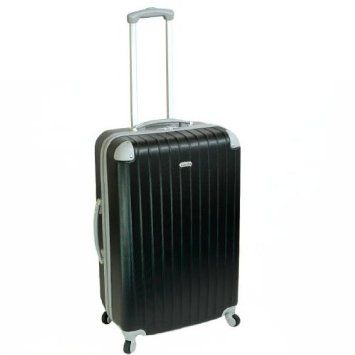 Karabar Cabin Approved Hard Suitcase 55 X 38 X 20 Cm All Parts Included   3