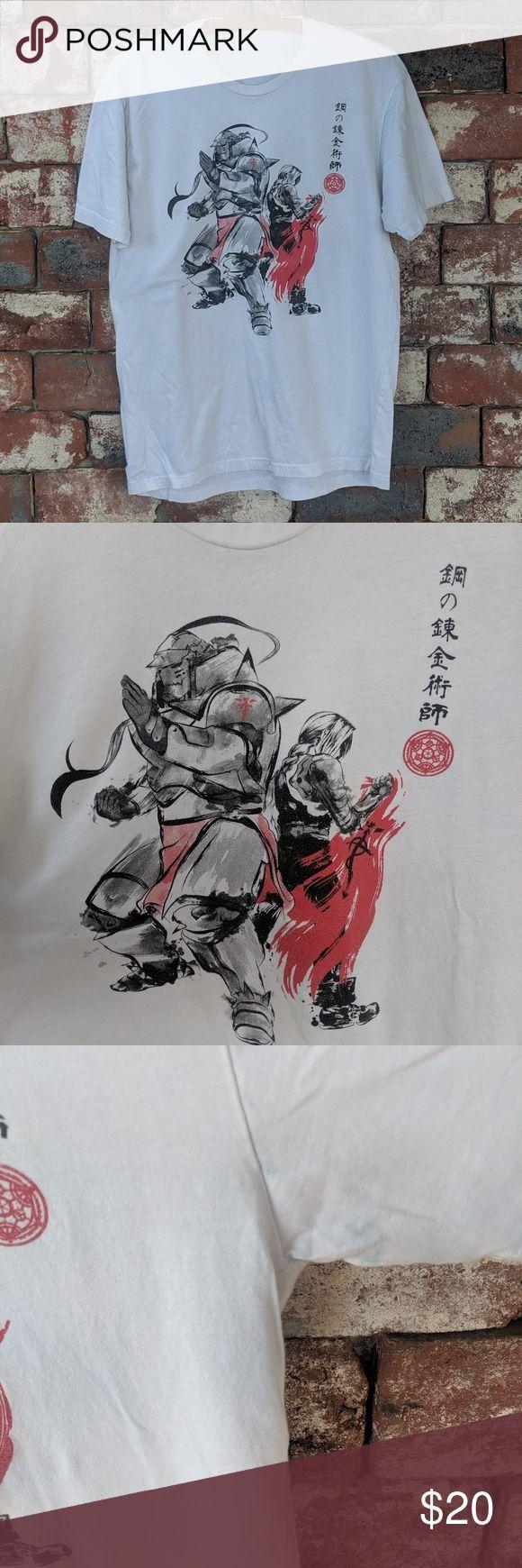 Fullmetal Alchemist anime tshirt Fullmetal Alchemist anime tshirt No size tag  Fullmetal Alchemist anime tshirt Fullmetal Alchemist anime tshirt No size tag